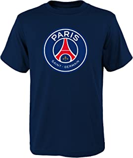 Outerstuff World Cup Soccer Paris Saint Germain Neymar Name and Number Short Sleeve Tee, Navy, Youth Large (14-16)