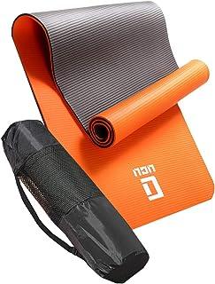 ヨガマット おりたたみ トレーニングマット エクササイズマット LICLI ヨガ ピラティス マット 厚さ 10mm 「 ストラップ 収納ケース付 」「 ニトリルゴム 滑り止め マットバッグ 」 11カラー