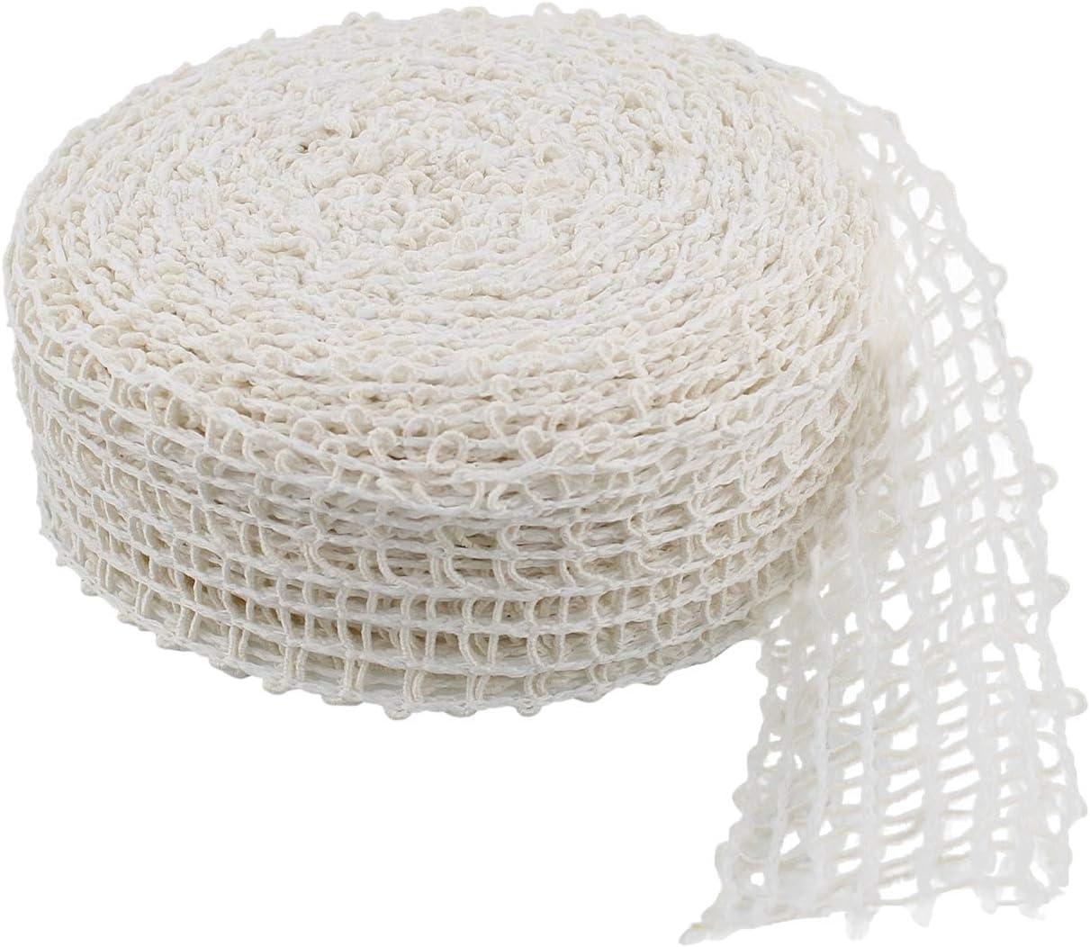 50ft Roll Size 28 Rural365 Meat Netting Roll Ham Sock Elastic Netting Meat Butcher Twine Net Meat Netting Roll Meat