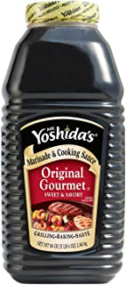 Mr. Yoshida's Original Gourmet Sweet and Savory Marinade and Cooking Sauce 86 Fluid Ounces (VALUE SIZE) Thank you for usin...