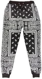 Unisex Harem Bandana Paisley Sweatpants Joggers Hip Hop Pants Trousers