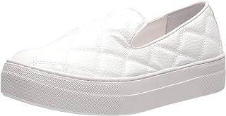 حذاء رياضي للنساء من Steve Madden Globe ، أبيض، 7. 5 US