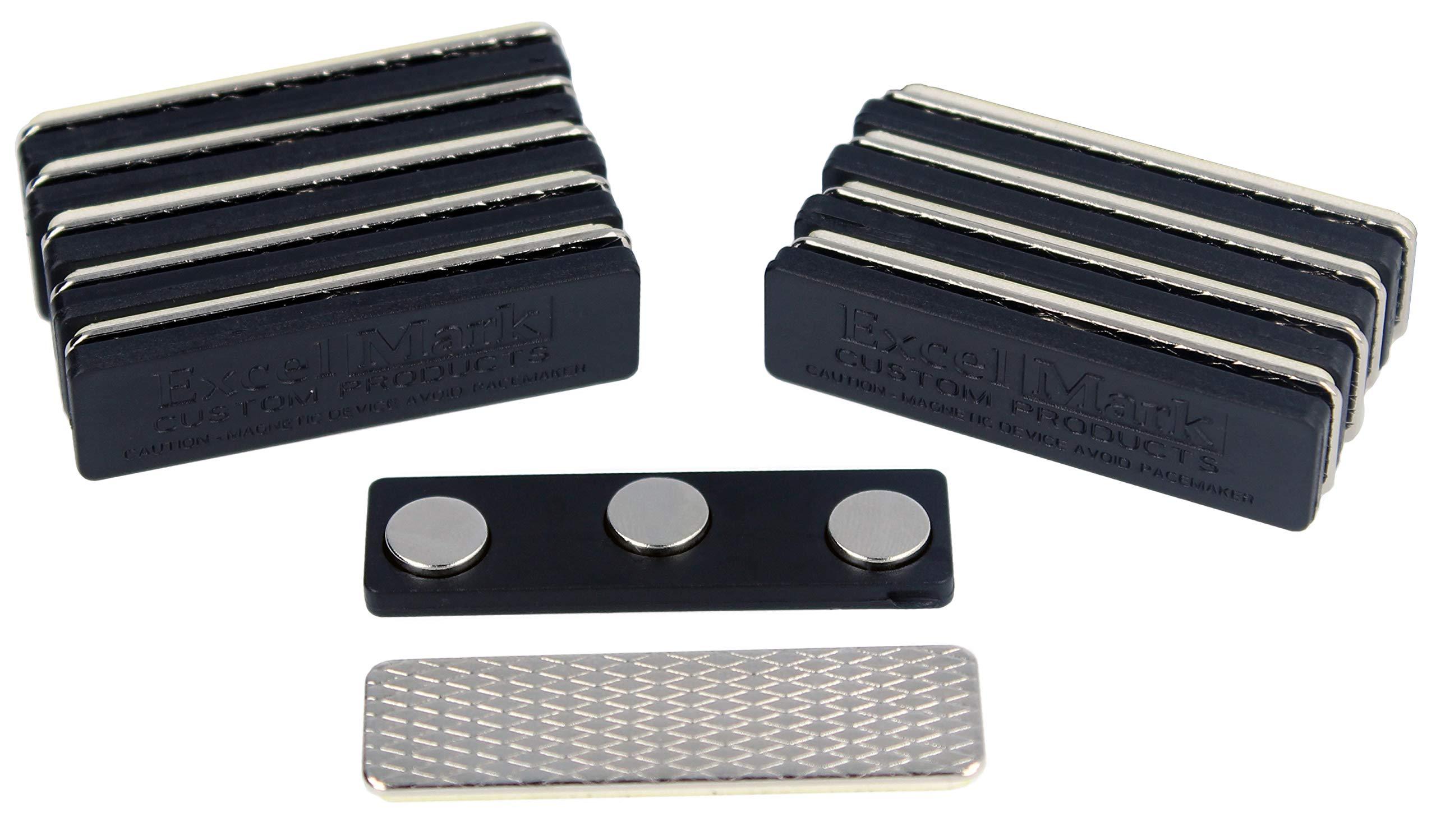 ExcelMark Name Badge Magnets Neodymium