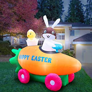 Best easter bunny driving car Reviews