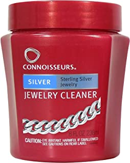 Connoisseurs Silver Jewelry Cleaner, 8OZ