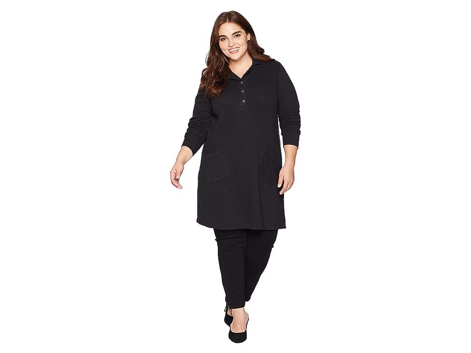 Aventura Clothing Plus Size Lenni Tunic (Black) Women