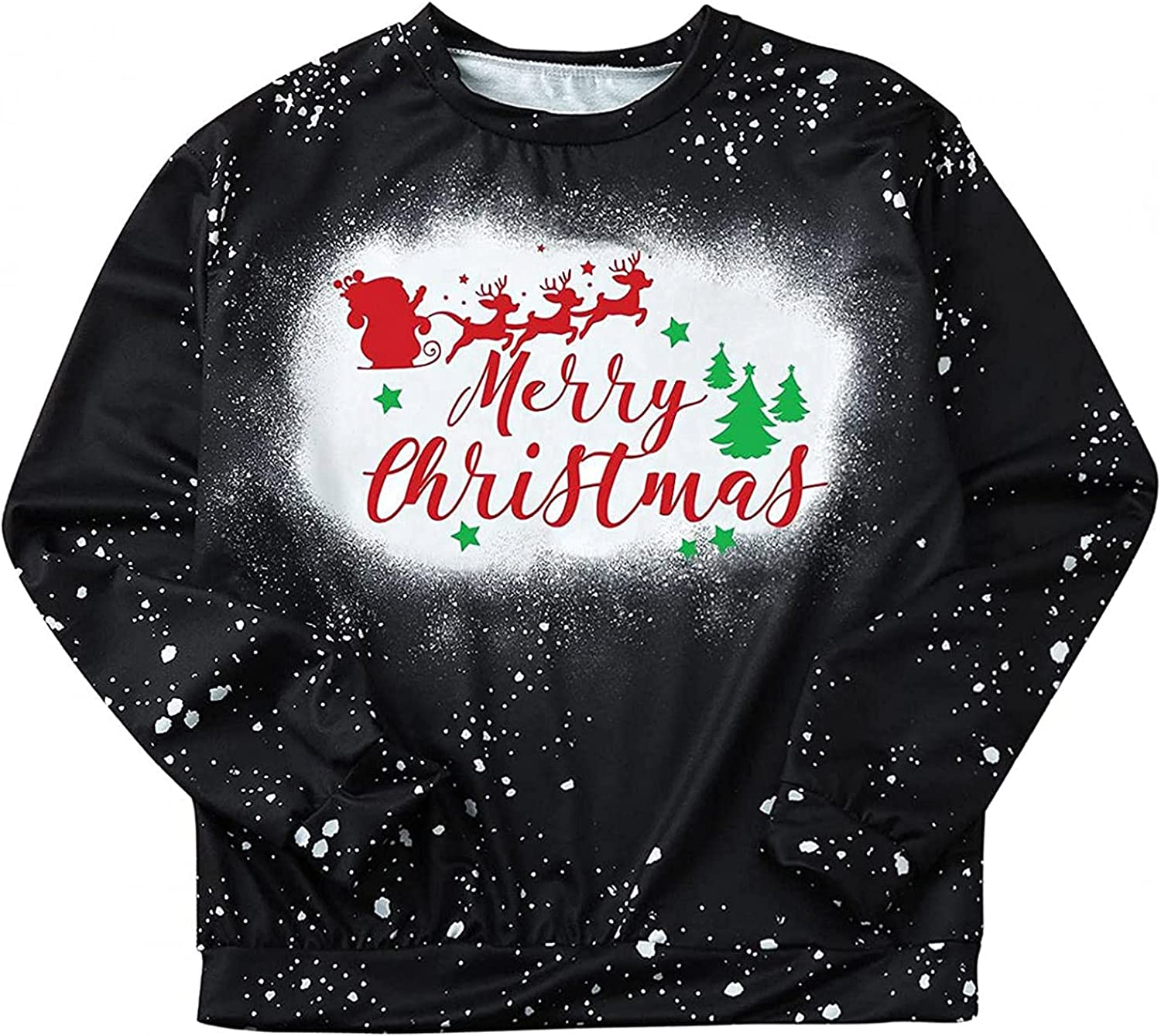 Tie Special price Dye Shirts Now on sale Womens Fall Tops Graphic Tree Christmas Tees Fash