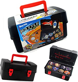 Bey Battling Top Case,Storage Carrying Box for Beyblade Burst Turbo Launcher Games Accessories Beylocker Portable Bey Set Organizer Gaming Tops Receiving Box Compatible with Takara tomy Beyblade Burst