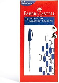 Faber-Castell 1423 Ball Pen 0.7Mm Box Of 10Pc Blue