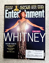 In Memorium, The Death of Whitney Houston - The EW Tribute - Entertainment Weekly - #1195 - February 24, 2012