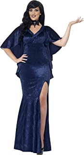 Smiffy's Curves Sorceress Costume, Blue, X3, 44339X3