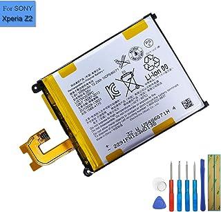 Ion de polímero de Litio batería de Repuesto LIS1543ERPC Compatible con Sony Ericsson Xperia Z2Xperia L50Xperia Z23G D6502Xperia Z2D6508