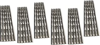 Votenli S9409A (6-Pack) Stainless Steel Heat Plate Replacement for Viking VGIQ300-2RT, VGIQ410-3RT, VGIQ412-2RT, VGIQ530-4RT, VGIQ532-3RT