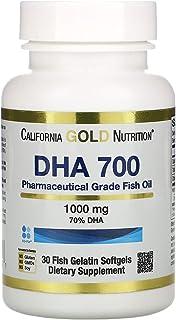 Sponsored Ad - California Gold Nutrition DHA 700 Fish Oil, Pharmaceutical Grade, 1,000 mg, 30 Fish Gelatin Softgels