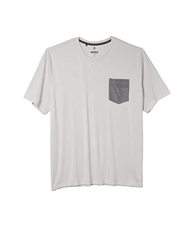adidas Golf Adicross Pocket Tee (Grey Two) Men