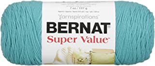 Bernat Super Value Yarn, 7 oz, Gauge 4 Medium Worsted, Aqua