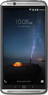 """ZTE Axon 7 - Smartphone Libre de 5,5"""" (4G, Qualcomm Snapdragon 820, 4 GB RAM, Almacenamiento Interno de 64 GB, Bluetooth, WiFi, Android), Color Plateado"""