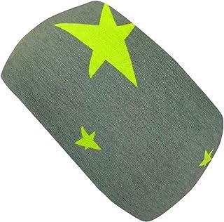 Wollhuhn Jungen Elastisches Sterne Stirnband Doppellagig Gr/ün 20194001