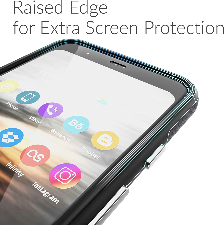 Crave Dual Guard for Google Pixel 4 Case, Shockproof Protection Dual Layer Case for Google Pixel 4 - Black