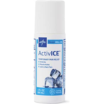 Medline ActivICE Topical Pain Reliever 3 oz Roll On