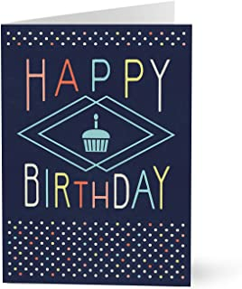 Hallmark Business Birthday Card for Employees (Birthday Cupcake) (Pack of 25 Greeting Cards)