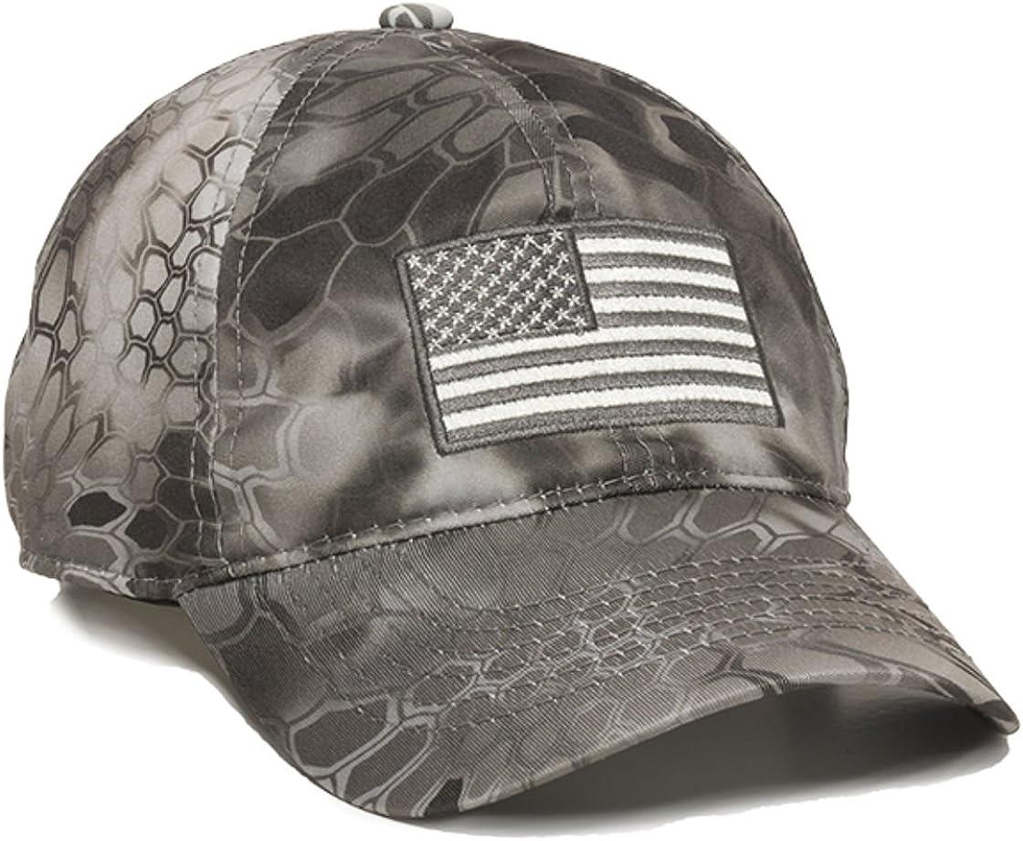 Kryptek Raid USA free Flag Military Hunting New Orleans Mall Cap