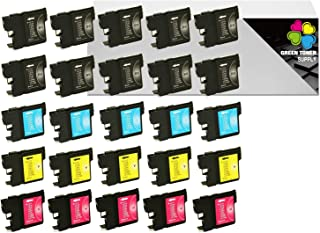 GTS Compatible LC61 Inkjet Cartridge Replacement LC-61 Brother All-in-One [LC613PKS/LC612PKS] DCP-165C DCP-385C DCP-585CW MFC-290C MFC-490CW MFC-5490CN MFC-5890CN MFC-6490CW MFC-790CW (10B5C5Y5M)