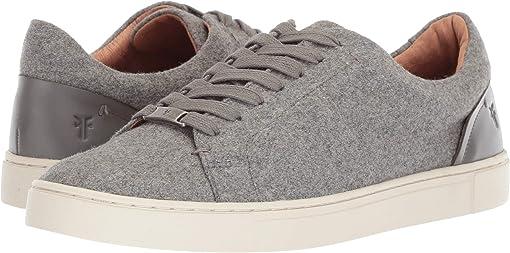 Grey Wool/Waxed Pull-Up