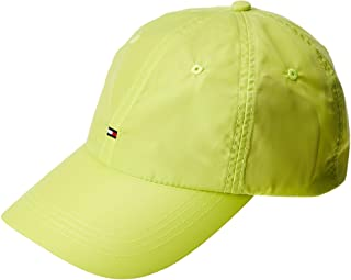Tommy Hilfiger Men's Baseball Neon Cap, Green, One size