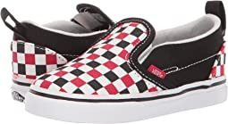 (Checkerboard) Black/Racing Red
