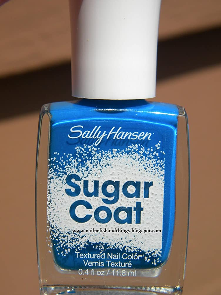 慰めいまエッセンスSALLY HANSEN Sugar Coat Special Effect Textured Nail Color - Razzle-berry
