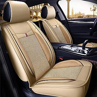 WGFGXQ Juego Completo De La Serie R11 De Cojines Universales para Asientos De Automóviles, Juego De Asientos Antideslizantes De Poliéster (Tela De Base De Gamuza).
