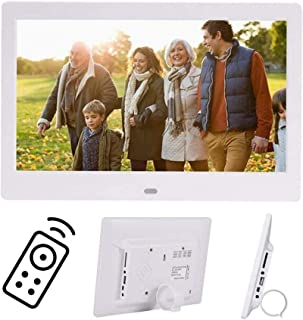 Digital Photo Frame 10 Inch IPS Screen Digital Photo Frames with USB SD Card Slots and Remote Control Digital Picture Fram...