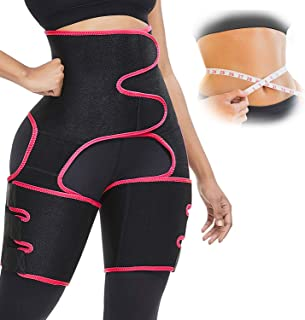 oscaurt Waist Trainer for Women Plus Size, Full Body Waste Trainers for Women,3 in 1 High Waist Thigh Trimmer for Women We...