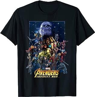 Marvel Avengers Infinity War Team Assemble Graphic T-Shirt