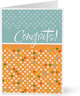Hallmark Business Congratulations Cards for Employees or Customers (Modern Congrats) (Pack of 25 Greeting Cards for Business)