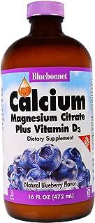 LQD Calcium Magnesium Citrate (Blueberry) 3-Pack