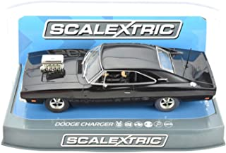 Scalextric C3936 Dodge Charger Gloss Black With Blower
