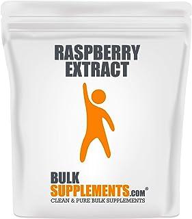 Sponsored Ad - BulkSupplements.com Raspberry Extract (100 Grams - 3.5 oz - 200 Servings)