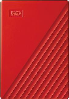 Western Digital My Passport USB3.0 External Hard Drive, 2 TB, WDBYVG0020BRD-WESN,Red