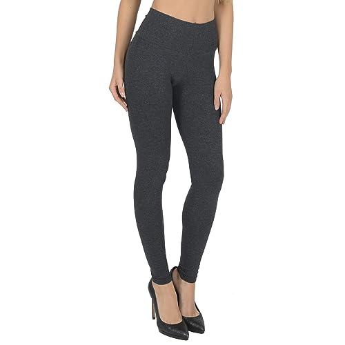 56be3c96ecd9ef Women's High Waisted Full Length Leggings By Today Is Her ® Extra Comfort  Range, Plus