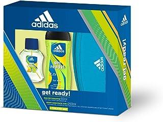 Adidas Get Ready! Set para Hombre Contiene: Neceser Adidas + Get Ready! Eau de Toilette 50 ml + Get Ready! Body Hair Face...