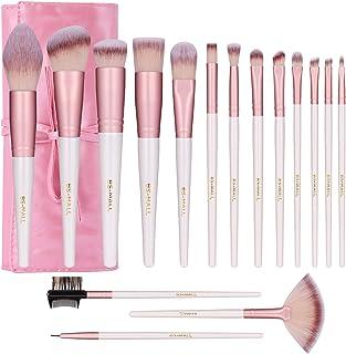 16 Piece Brush Professional Set Cover all your makeup needs, makeup brush set,Rose Gold Makeup Brushes,makeup brushes set ...