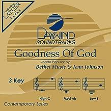 Goodness Of God Accompaniment/Performance Track