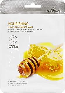 BEAUUGREEN NOURISHING ROYAL JELLY PREMIUM ESSENCE MASK 23g10pcs / Korean Face Sheet Mask Nourishing & Revit...