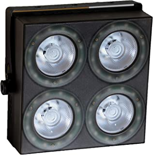 3 IN 1 LED 4 Eyes Audience Mini Blinder Light-Wash and matrix Light DJ Disco Lights Sound Activated Modes,auto and DMX control for Easter Halloween Christmas Party Stage