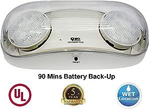 outdoor battery backup emergency lighting