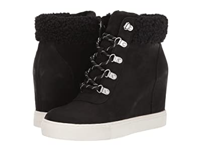 Kenneth Cole New York Kam Hiker Wedge Cozy (Black) Women
