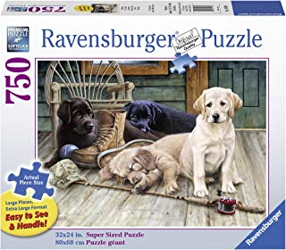 Ravensburger Ruff Day 19939 750 Piece Large Pieces Jigsaw Puzzle for Adults, Every Piece is Unique, Softclick Technology Means Pieces Fit Together Perfectly