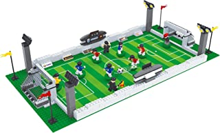 BRICK-LAND Soccer Game Building Bricks Toy Set with...